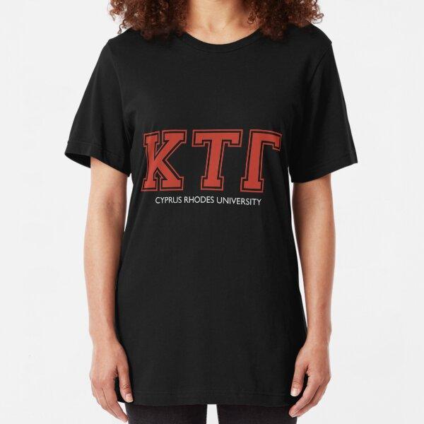 Kappa Tau Gamma Slim Fit T-Shirt