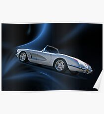 1959 Corvette Roadster V Poster