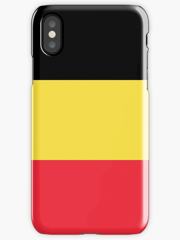Smartphone Case - Flag of Belgium  - Vertical by mpodger