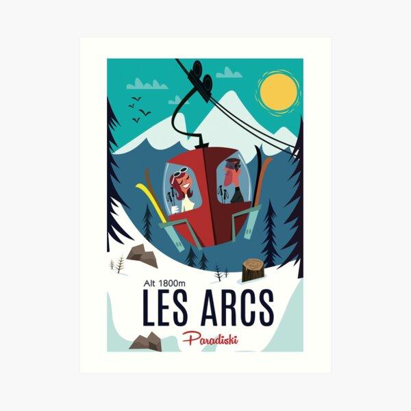 Les Arc poster Art Print