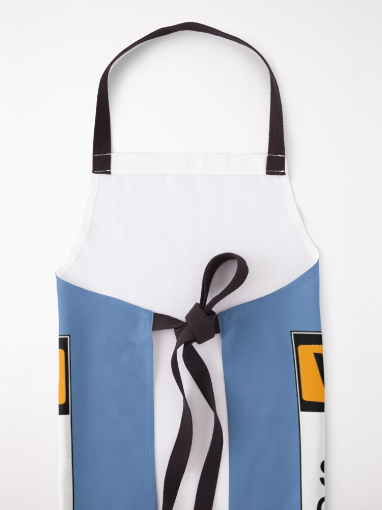 Alternate view of WARNING: SUBJECT TO SPONTANEOUS OUTBURSTS OF DAD JOKES Apron