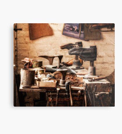 The Shoe Makers Shop Metal Print