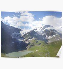 Melted Glacier Poster