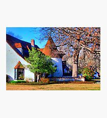 Beautiful Home in Sherman, Texas, USA Photographic Print