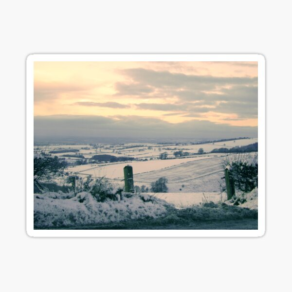 Wolds View, Yorkshire Sticker