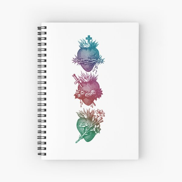 Hearts of Holy Family Spiral Notebook