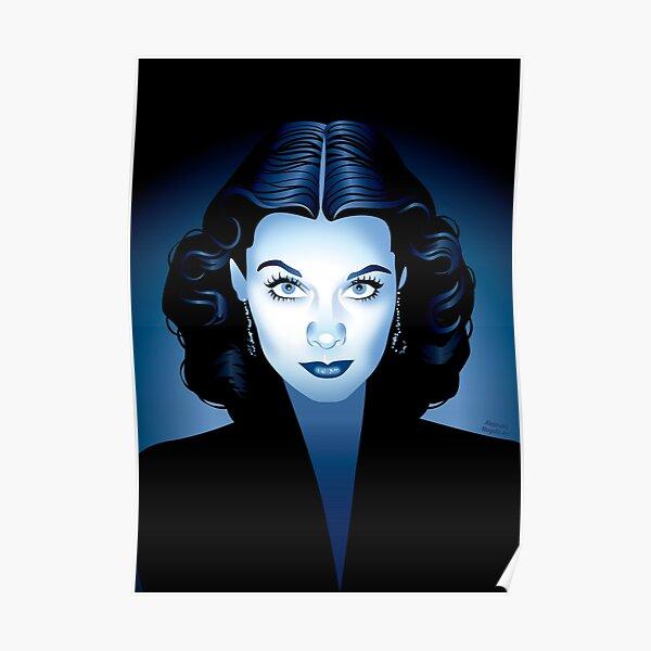 Blue Vivien Poster