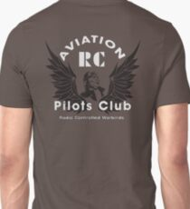 Aviation RC Pilots Club (big) logo  Unisex T-Shirt