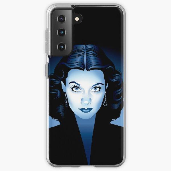 Blue Vivien Samsung Galaxy Soft Case