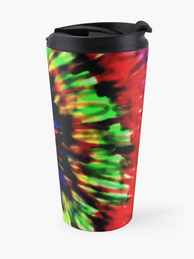 Alternate view of Tie-Dye by Jen Thorpe Travel Mug