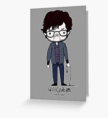 Will Graham Needs Help Greeting Card