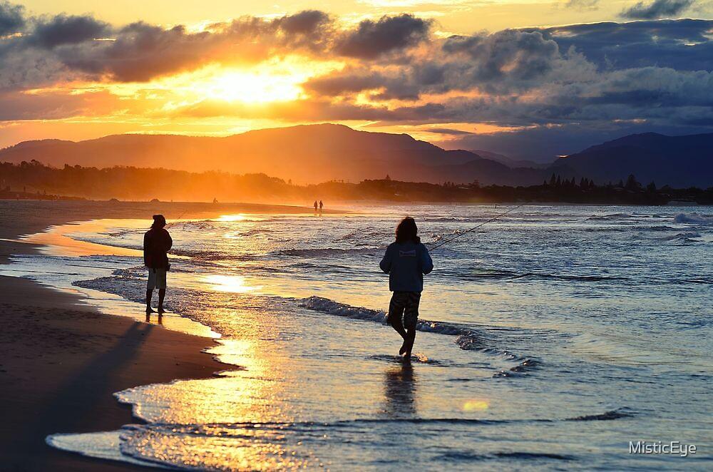 Sunset Beach by MisticEye