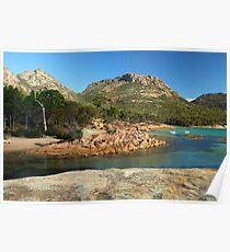 Freycinet National Park  Tasmania Poster