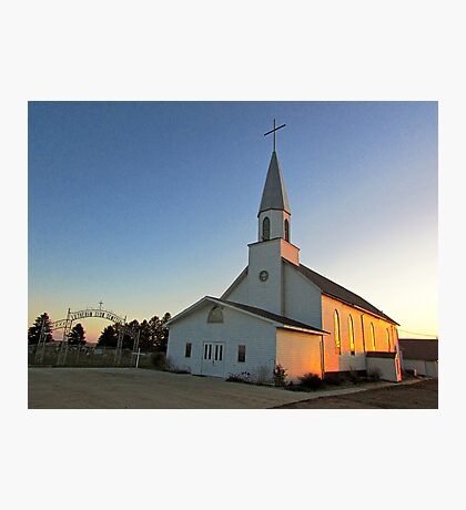 Zion Lutheran Church Photographic Print