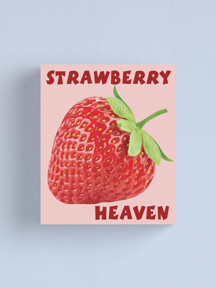 Alternate view of Strawberry Canvas Print