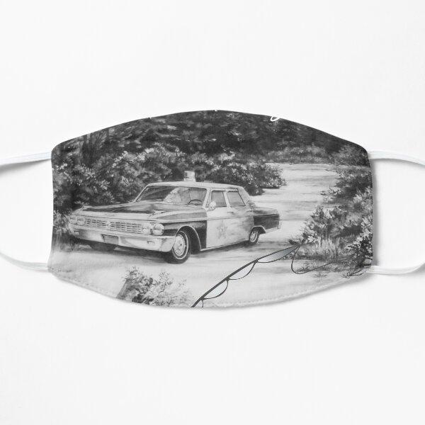 Gone Fishing Mayberry Flat Mask