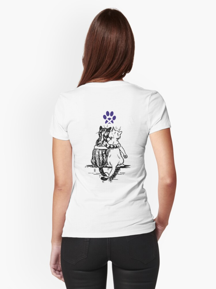 Wain Cats Dreaming of Scottish Independence Tee by simpsonvisuals