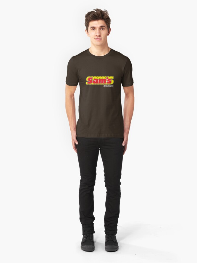Alternate view of Sam's Chicken Slim Fit T-Shirt
