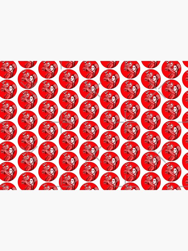 Lola Flores Lunares Rojos  de danimota