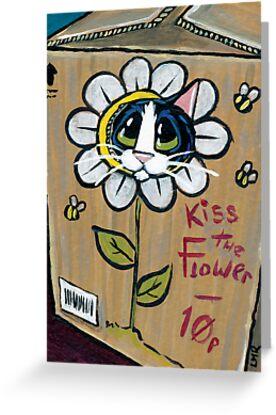 Kiss the Flower by Lisa Marie Robinson