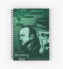 Breaking Bad Vector Artwork Spiral Notebook