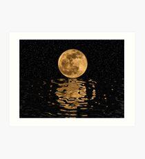 Lunar Reflections Art Print