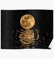 Lunar Reflections Poster