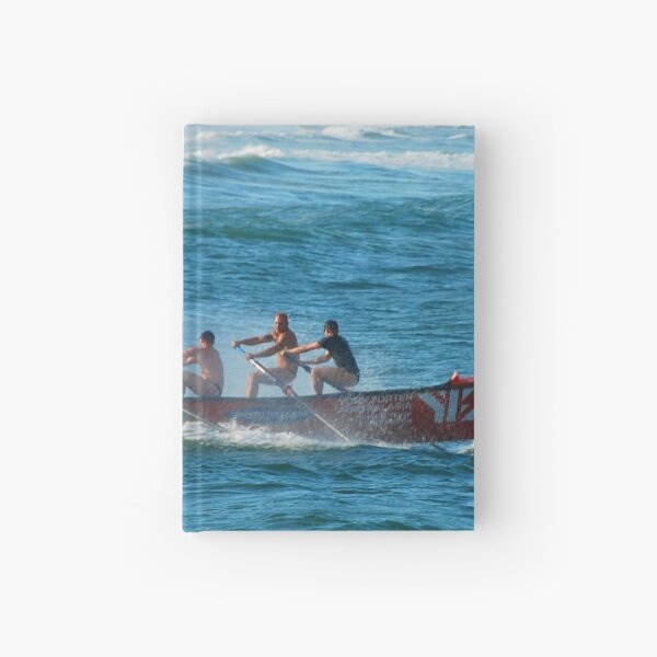 Dixon Park Surf Boat Crew Hardcover Journal