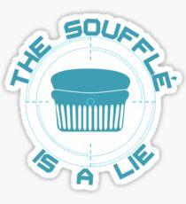 The Soufflé is a Lie Sticker