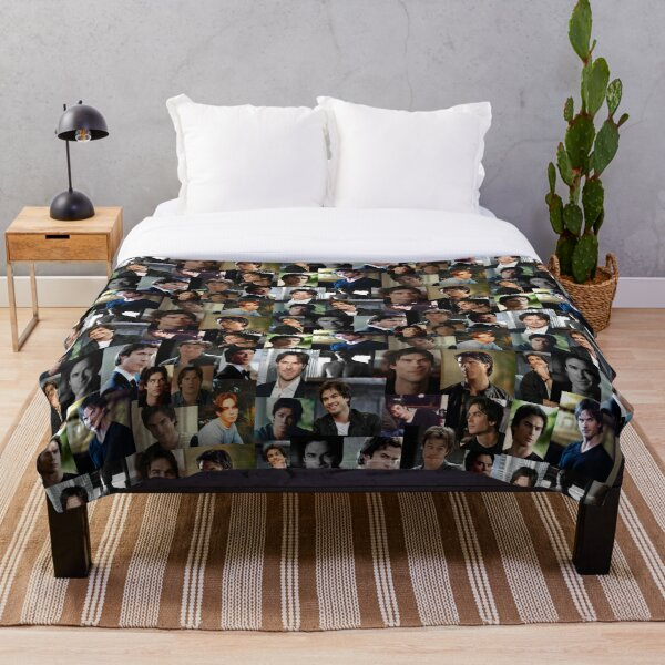 ian somerhalder Throw Blanket