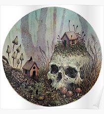Little Forest Spirits  Poster