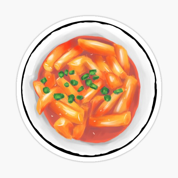 tteokbokki Sticker