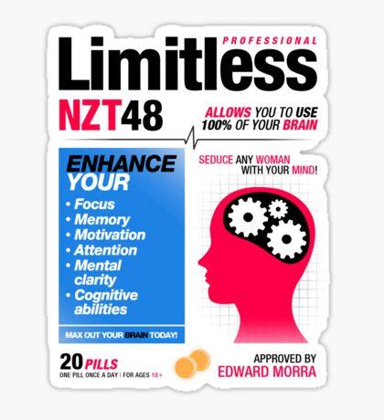 Limitless Pills - NZT 48 (2nd Version) Sticker