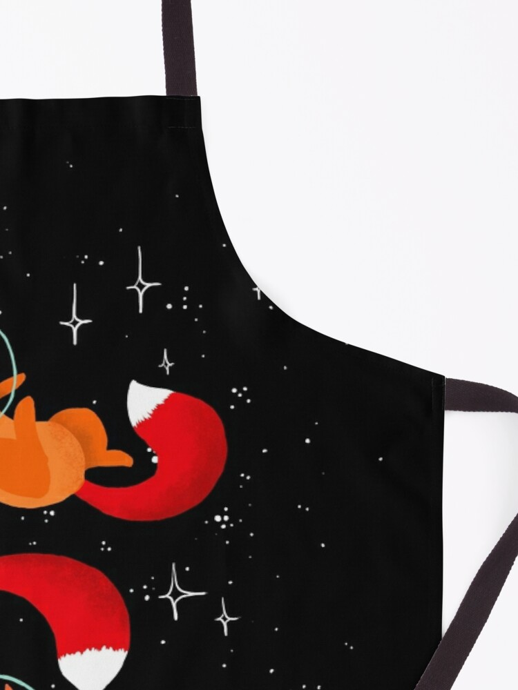 Alternate view of Space Foxes Apron