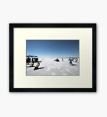 Ford Hot Rod on the salt 2 Framed Print