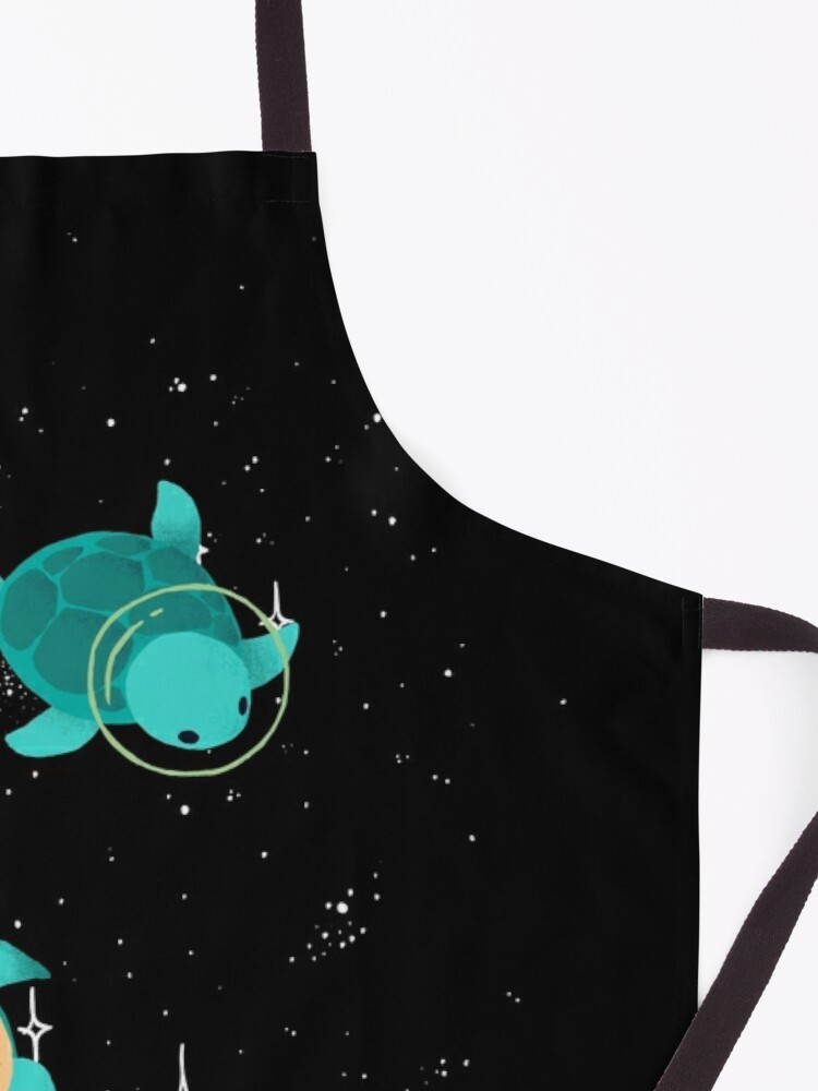 Alternate view of Space Turtles Apron