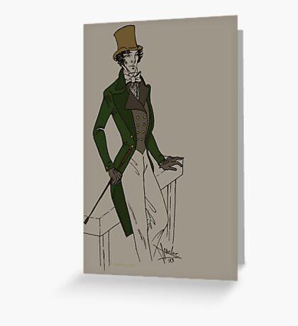Sherlock - Oldschool  Greeting Card