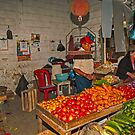 Vegetables at the Mercado - Playas, Ecuador by Paul Wolf