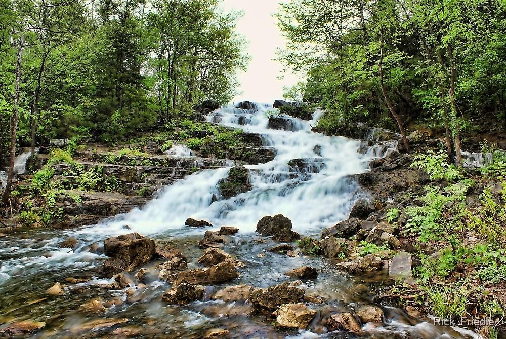 Waterfall by Rick  Friedle