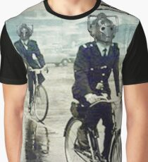 cybermen on bikes Graphic T-Shirt