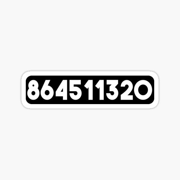 864511320 Sticker