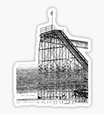 The Jet Star Rises Sticker