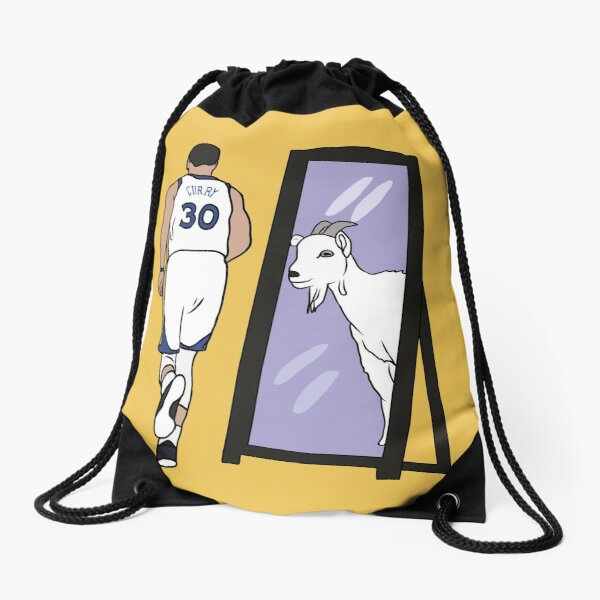 Steph Curry Mirror GOAT Drawstring Bag