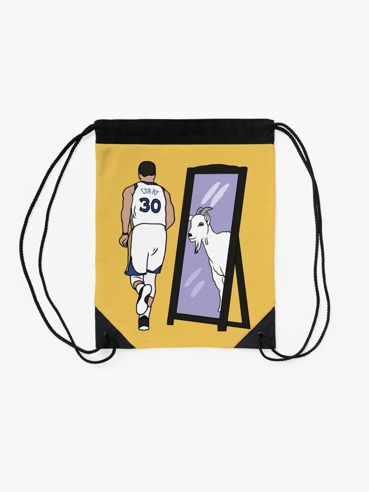 Alternate view of Steph Curry Mirror GOAT Drawstring Bag