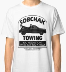 The Big Lebowski Inspired - Sobchak Towing - You Want a Toe? Classic T-Shirt
