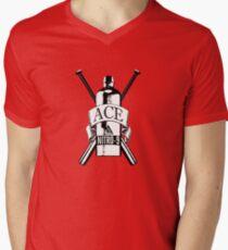 Dr Who: Ace - The first kick ass companion! Men's V-Neck T-Shirt