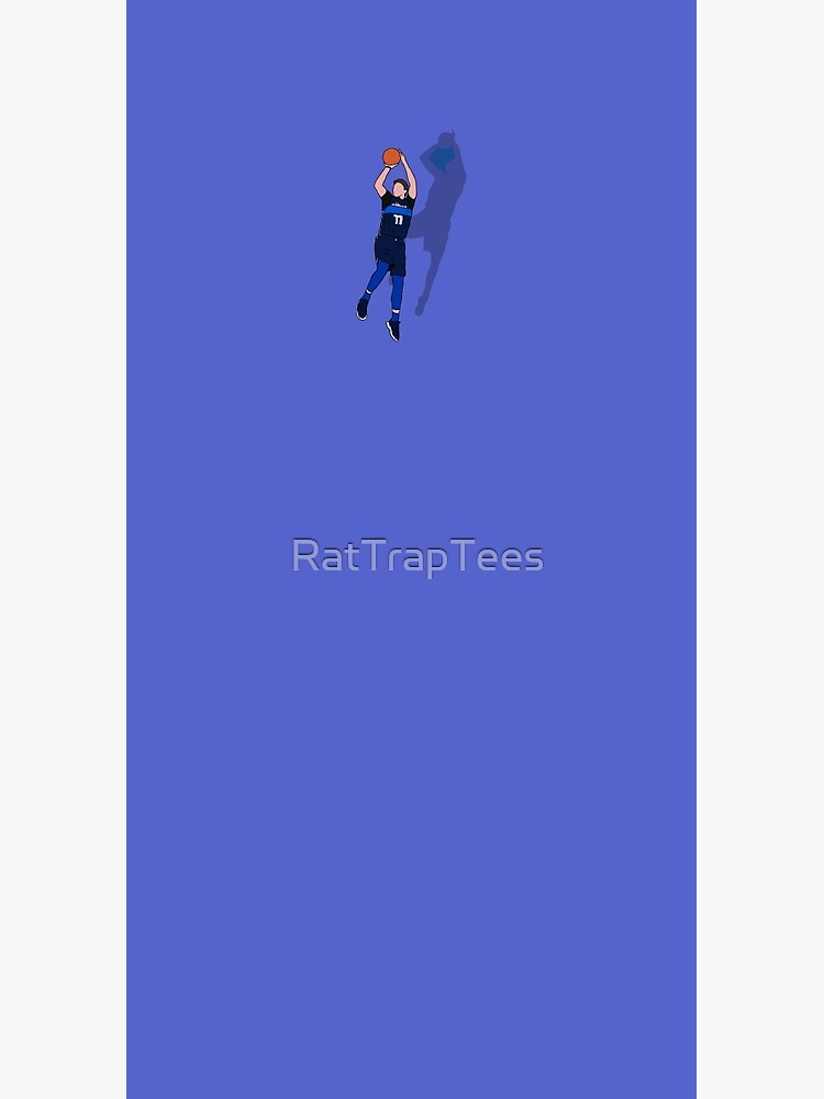 Luka And Dirk Fadeaway by RatTrapTees