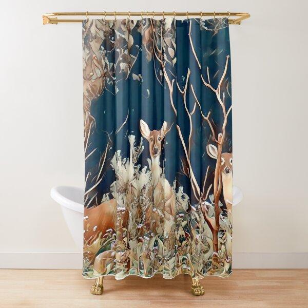 Woodland Friends Shower Curtain