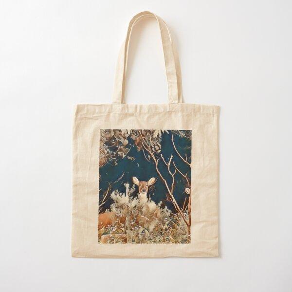 Woodland Friends Cotton Tote Bag