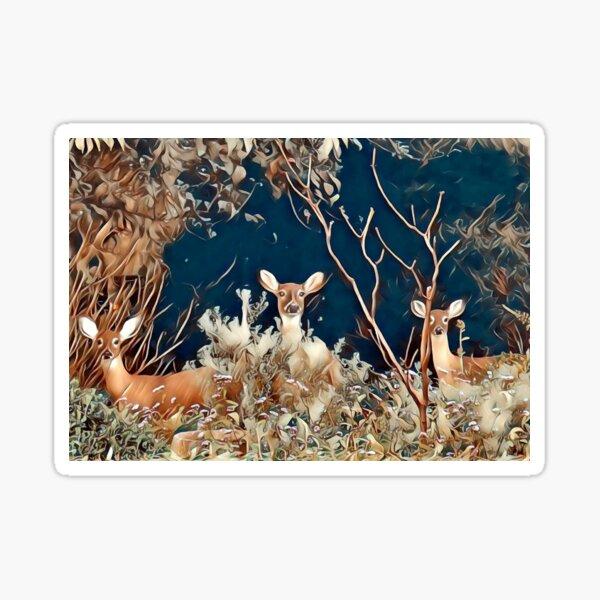 Woodland Friends Sticker